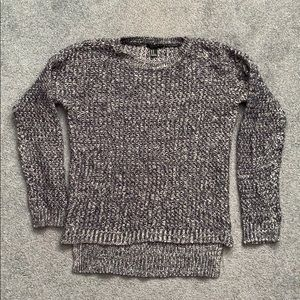 Forever 21 gray/blue sweater